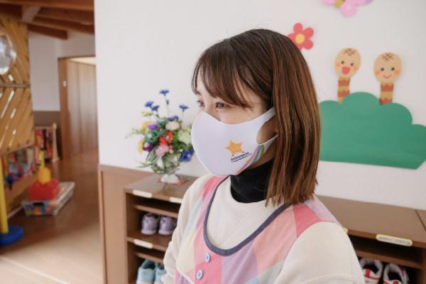 星の杜保育園のコロナ対策(マスクの着用)