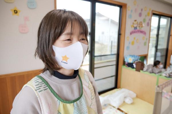 小規模保育園ステラのコロナ対策(マスクの着用)