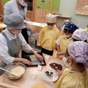 食育《クッキー作り》